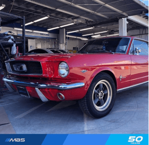 MBS_Classic Red Mustang