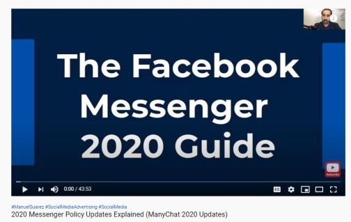 The Facebook Messenger 2020 Guide