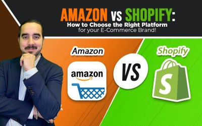 Amazon vs. Shopify: Choosing the Right Platform for your E-Commerce Brand