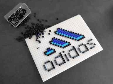 adidas pixel art photo 1