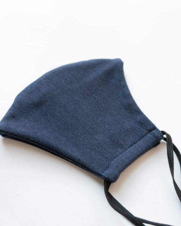 nachhaltige Baumwolle Maske Behelfsmaske Damen Frauen Blau made in Germany 2 scaled <ul> <li>Anliegende Mund-Nasen-Maske</li> <li>bequeme Gummibänder</li> <li>95% Baumwolle, Oeko-Tex Klasse 1</li> <li>leicht elastisches Material</li> <li>made in Germany</li> </ul>