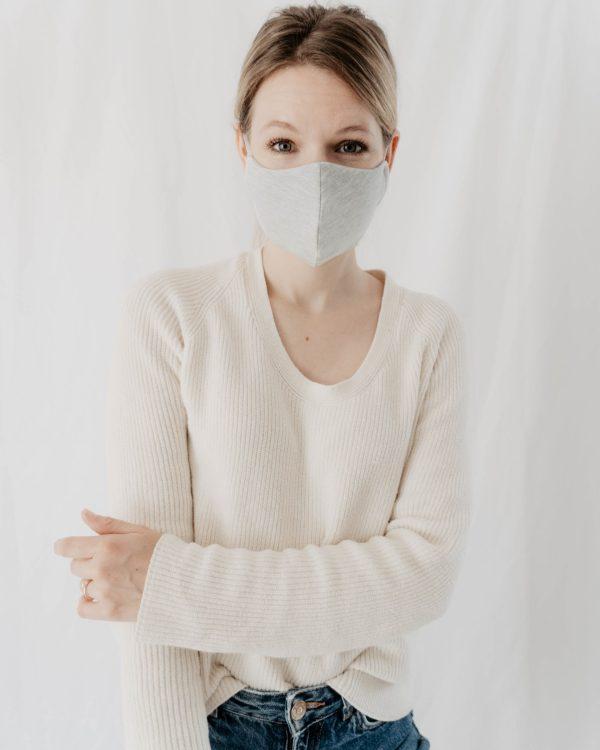 nachhaltige Maske aus Baumwolle