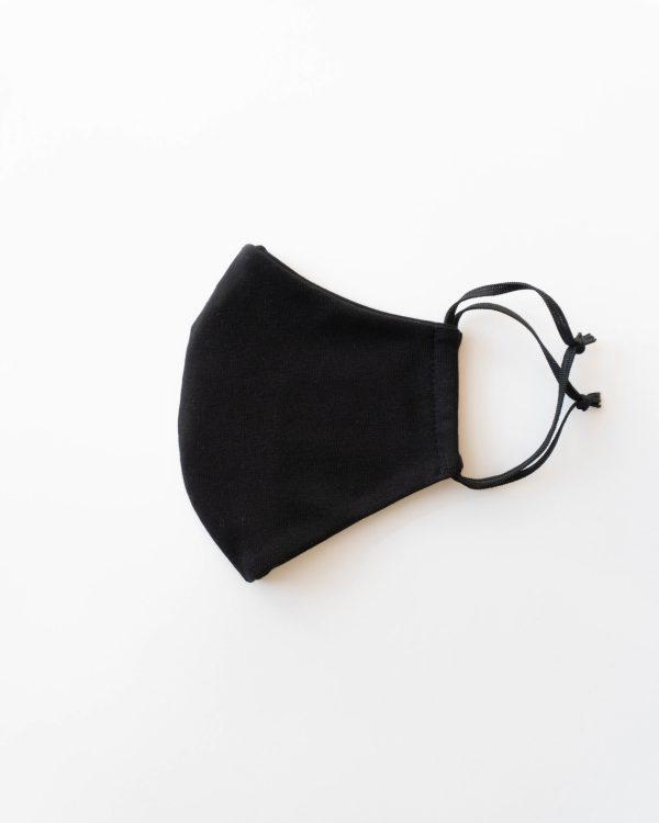 nachhaltige Bio Baumwolle Maske Behelfsmaske Damen Frauen schwarz made in Germany 3 scaled <ul> <li>Anliegende Mund-Nasen-Maske</li> <li>bequeme Gummibänder</li> <li>95% Baumwolle (Bio), Oeko-Tex Klasse 1</li> <li>leicht elastisches Material</li> <li>made in Germany</li> </ul>