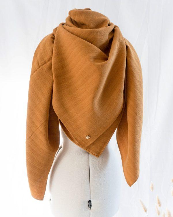 Nachhaltiges XXL Bio Baumwolltuch Musselin Ocker Gelb Senf Manufaktur Nicola Marisa scaled <ul> <li>100% Bio-Baumwolle</li> <li>Handmade in Germany</li> </ul>