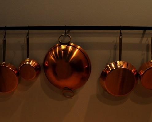 Manufakturen-Blog: Kupfergeschirr der Kupfermanufaktur Weyersberg (Foto: Wigmar Bressel)