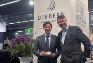 Manufakturen-Blog: Ben Dibbern und ich am Messestand auf der Ambiente (Foto: Dibbern)
