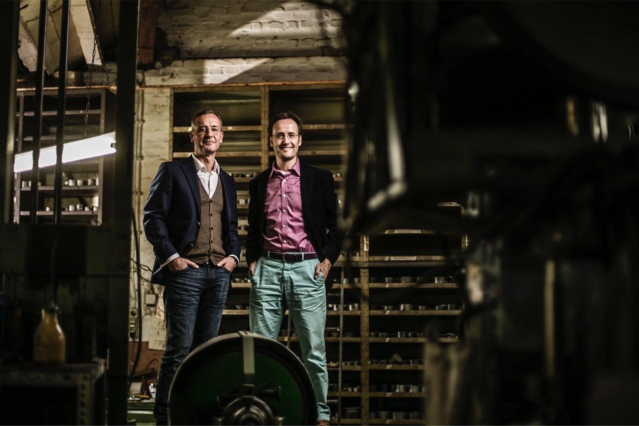 Manufakturen-Blog: Die Brüder Johan Conze und Friedrich Assmann leiten Deumer seit der Jahrtausendwende (Foto: Deumer)