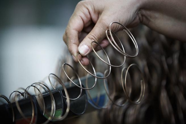 Manufakturen-Blog: Traditionelle, hochvergüteten Federkerne sind das Geheimnis einer lebenslangen Garantie der Matratzen von Schramm (Foto: Schramm Werkstätten