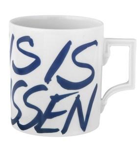 Manufakturen-Blog: Meissens derzeitiger Bestseller-Mug 'This is Meissen' (Foto: Meissen)