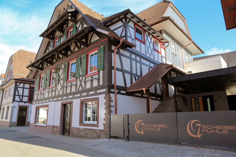 Manufakturen-Blog: Die Scheibel-Mühle für den 'Emill' in Kappelrodeck glänzt wieder (Foto: Scheibel)