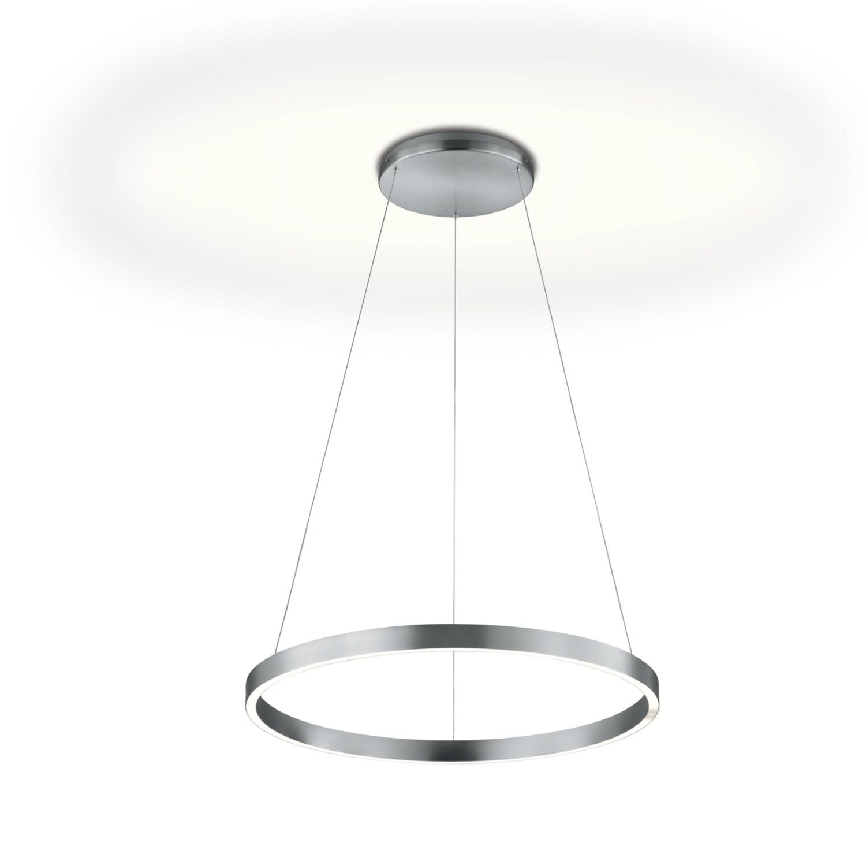 Manufakturen-Blog: Runde Deckenleuchte mit direktem und indirekten Leuchtband von Knapstein (Foto: Knapstein)
