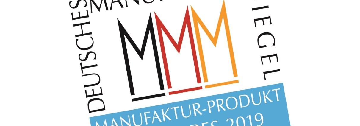 Manufakturen-Blog: Der Verband Deutsche Manufakturen e. V. hat den Wettbewerb zum 'Manufaktur-Produkt des Jahres 2019' gestartet (Grafik: Peter Sieber, ora et labora)