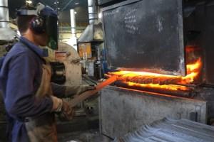 Manufakturen-Blog: INCOLMA Macheten aus Manizales Kolumbien Schmiedeofen (Foto: Martin Specht)
