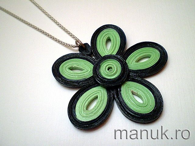 Take a Quill Pill Challenge #11 – Quilled Jewelry