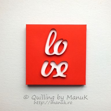 Back to the Basics V - Love Quillography