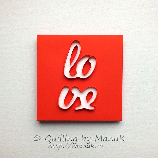 Back to the Basics V – Love Quillography