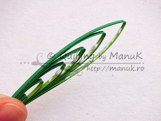 Quilled Grass Tutorial 09