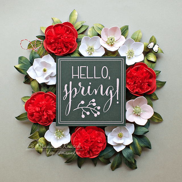 Quilled Spring Flowers – Hello, Spring!