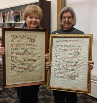 These two friends hadn't realized that their Gradual leaves came from the same manuscript