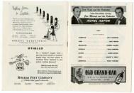 (Ephemera- Theater Programs) Cast information from Othello playbill, 1944.