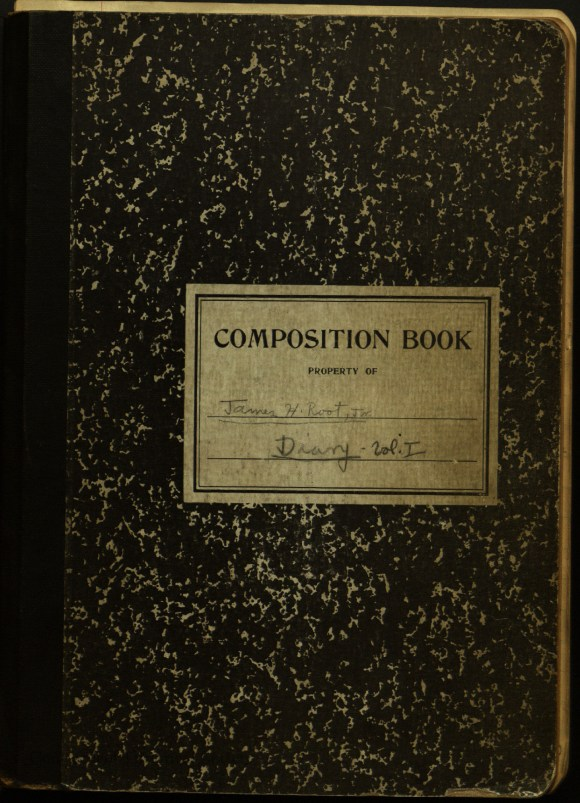 James A. Root, Jr. diary cover