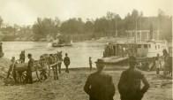 Ferry crossing at Hartford, 1895