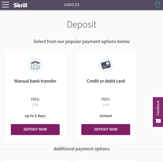 How to deposit in 1Xbet without using Mpesa