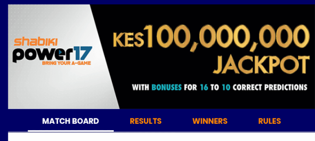 Shabiki power 17 jackpot predictions