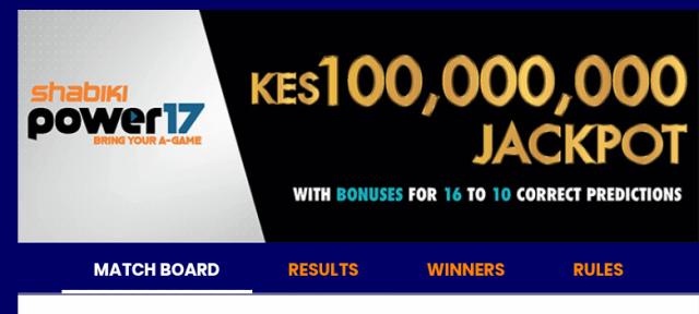 Shabiki power 17 jackpot predictions