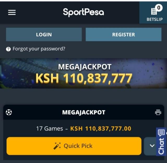 Sportpesa Mega Jackpot 06/03/2021