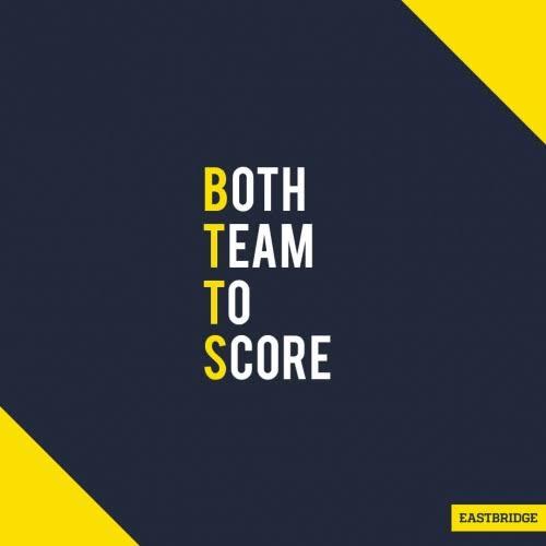 Both teams to score 23/02/2021