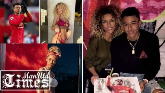 Why did Man United midfielder Jesse Lingard split with his ...