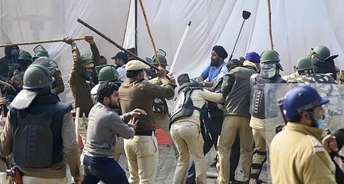 SHO अलीपुर पर हमला करने वाले किसान आंदोलनकारी को नहीं किया सर्वजनिक ?