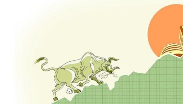 शेयर बजार में भारी उछल