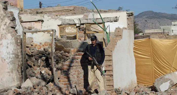 खैबर पख्तूनख्वा दिसंबर में अतिवादियों ने तोड़ा था मंदिर