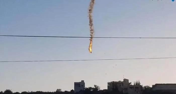 इस्राईल का एक ड्रोन विमान फ़िलिस्तीनियों ने मार गिराया