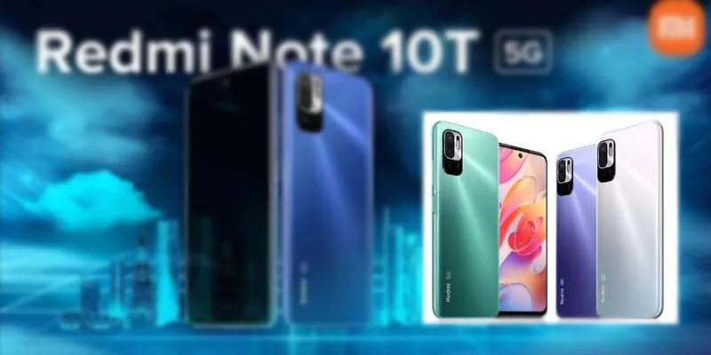 भारत में Redmi Note 10T 5G लांच, 13,999 रुपये मात्र कीमत