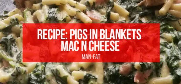 Pigs in blankets mac n cheese