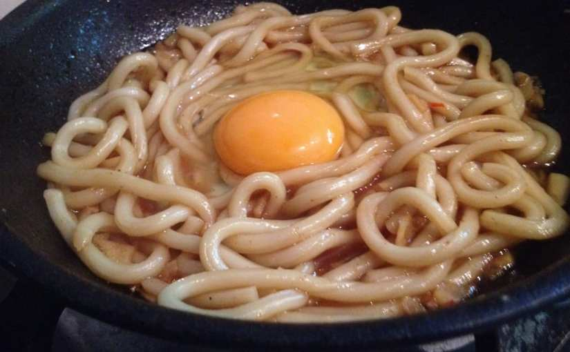 Teriyaki Udon Noodles with Chilli and Egg Recipe