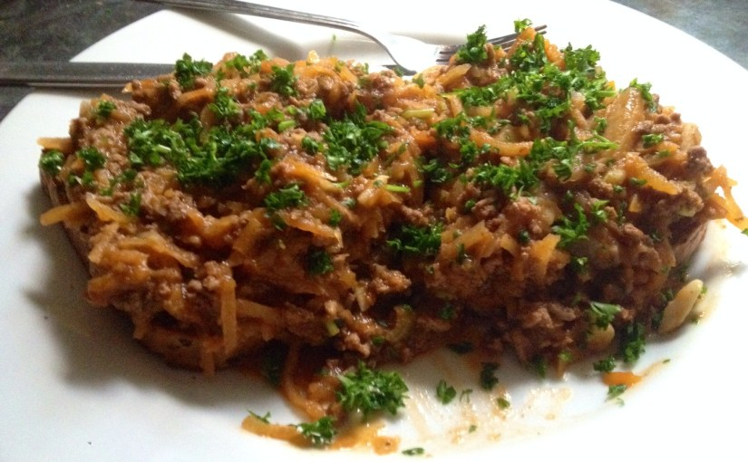 Savoury Mince on Toast Recipe (New Zealand Style)