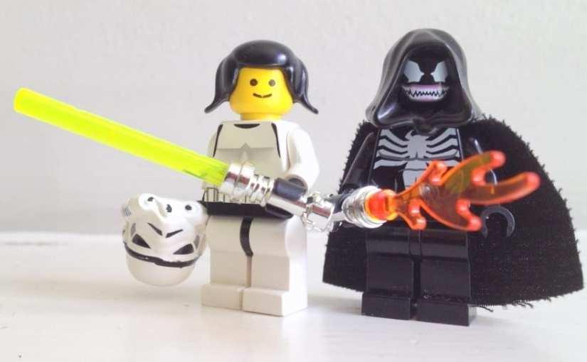 Lego, Star Wars, Princess Leia LEGO female minifig,