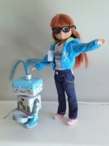 Robot girl Lottie, Busy Lizzie Robot, Lottie Dolls, Lottie Dolls uk, Lottie Dolls Amazon