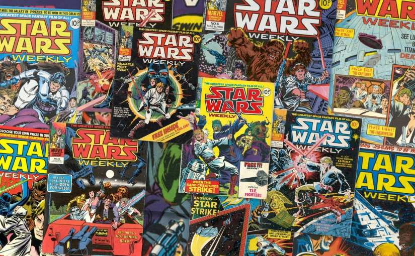Star Wars Weekly, 1978 Marvel UK Star Wars weekly comic
