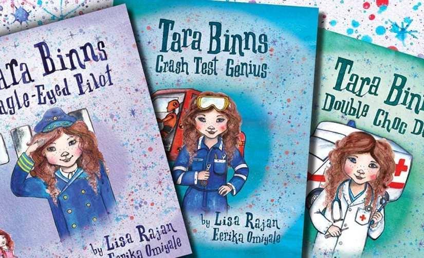 Tara Binns – Books That Empower Little Girls to Dream Big