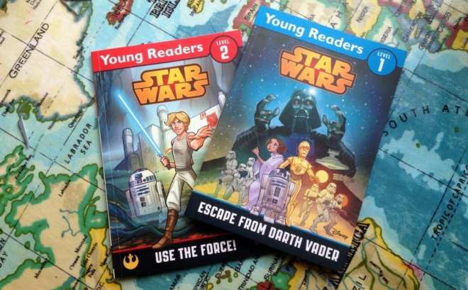 Star wars children's books, Young readers Use the Force, Escape from Darth Vader,