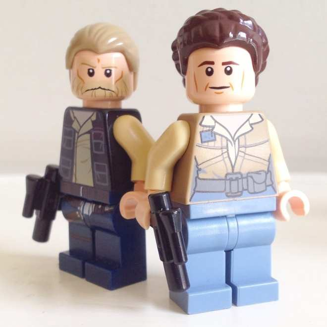 General Leia, Old Han Solo, LEGO Star Wars, The Force Awakens, Gift ideas for girls