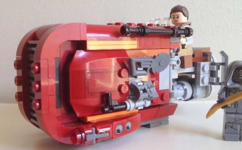 REVIEW: LEGO Star Wars – Rey's Speeder