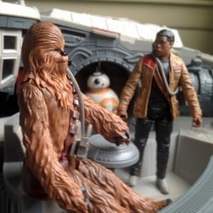 Chewbacca action figures, BB-8 action figures, Finn action figures, Star Wars toys,