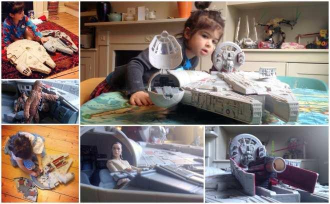 millennium falcon battle action, finn, rey, star wars 7 millennium falcon toy, Star Wars The Force Awakens