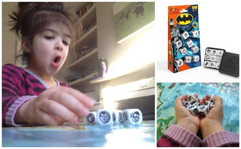 Rory's Story Cubes Batman Review, Batman toys, creative play